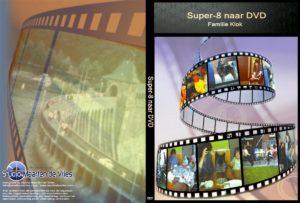 Super 8 naar dvd cover