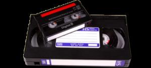 Videobanden repareren